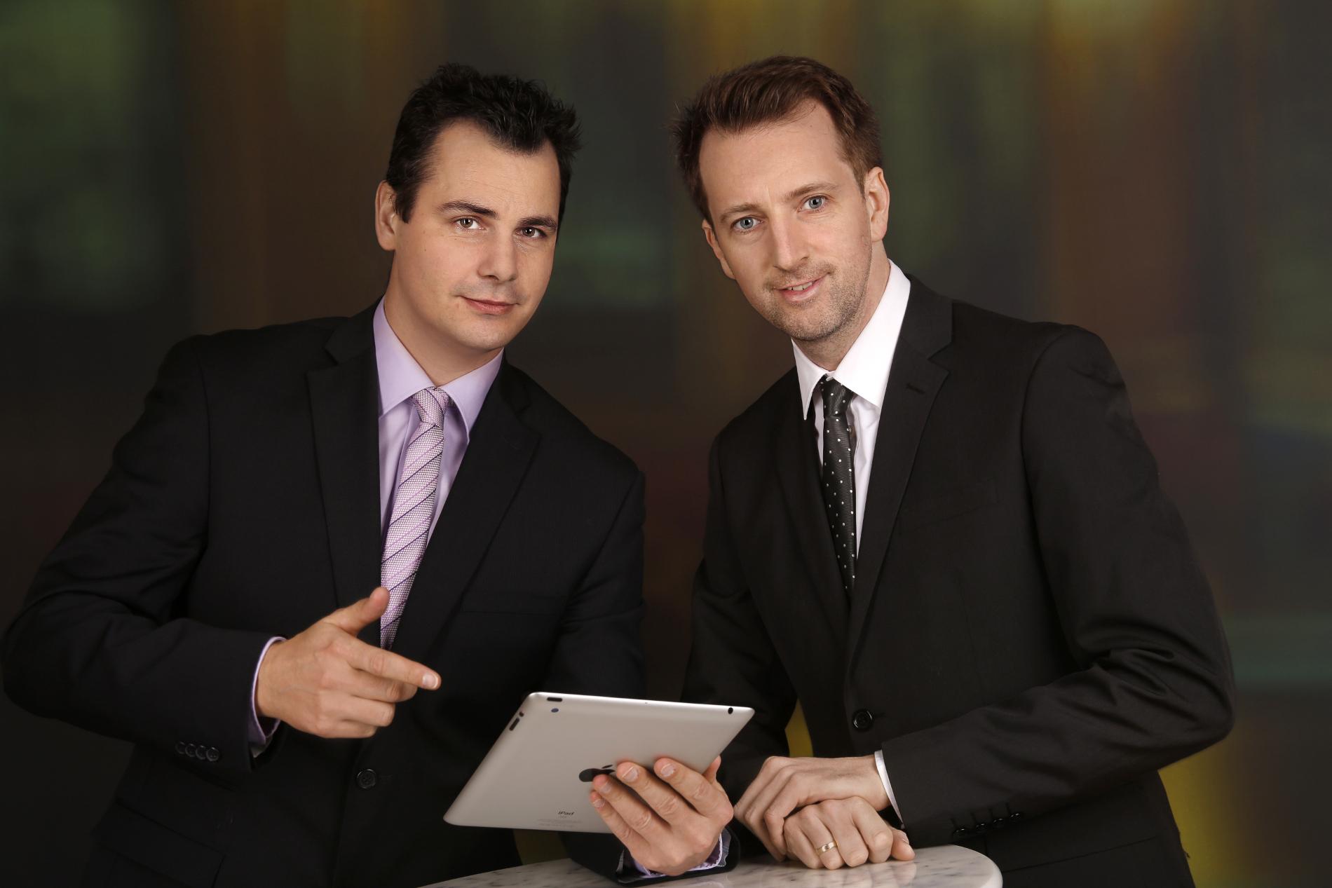 Gründer von Econob (Markus Schicho & Markus Hassler)